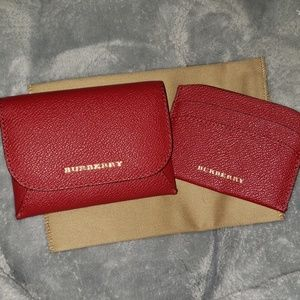 Burberry Accessories - Burberry Card Case with Insert